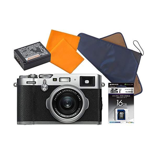 【欠品:納期1~2ヶ月】FUJIFILM 【フジフイルム】 デジタルカメラ X100F 特典セット [カラー選択式:シルバー/ブラック]【快適家電デジタルライフ】