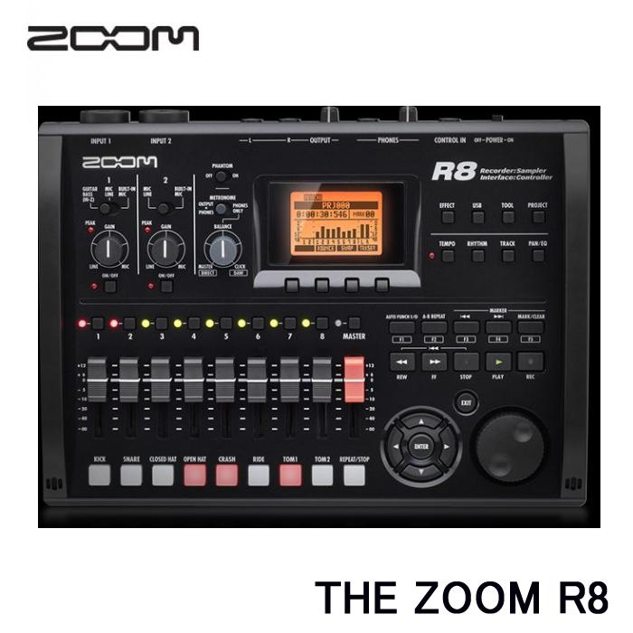 ZOOM(ズーム) 【マルチトラックレコーダー】 R8 (ラッピング不可)(快適家電デジタルライフ)