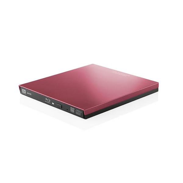ロジテック ポータブルブルーレイ レッド LBD-PVA6U3VRD [Logitec][Blu-ray](快適家電デジタルライフ)