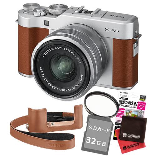 【内祝い】 (6点セット)フジフイルム X-A5LK-BW X-A5LK-BW ブラウン レンズキット ブラウン ミラーレス一眼カメラ Xシリーズ Xシリーズ (XA5LKBW)(FUJIFILM), 妻沼町:8175f988 --- scottwallace.com