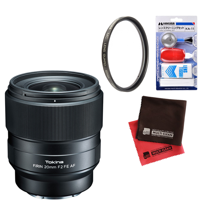 (フィルター・クリーナー・クロス付)ケンコー・トキナー F?RIN 20mm F2 FE AF 広角単焦点レンズ フルサイズ用(快適家電デジタルライフ)