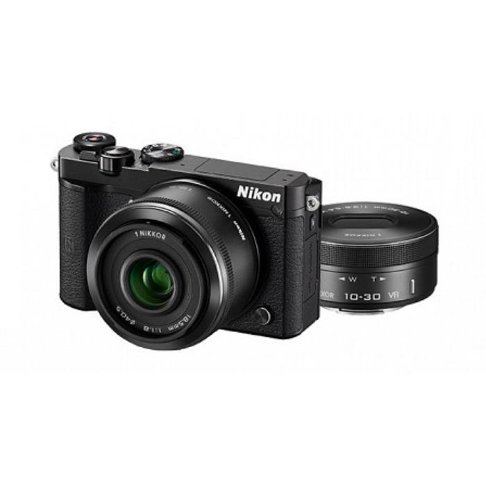 (ミラーレスカメラ)ニコン Nikon1 J5ダブルレンズキット N1J5WLKBK (Nikon)【快適家電デジタルライフ】