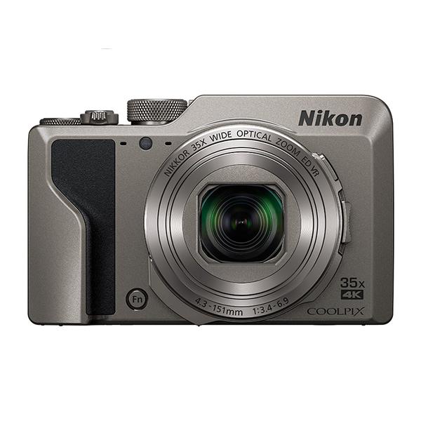 ニコン コンパクトデジタルカメラ COOLPIX A1000 シルバー (デジカメ/コンデジ)(Nikon)(快適家電デジタルライフ)