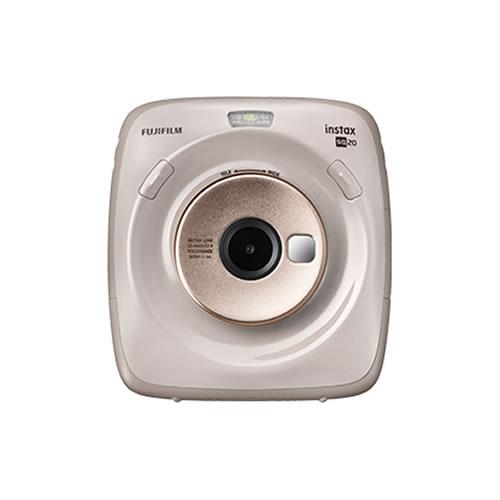 フジフイルム ハイブリッドインスタントカメラ チェキスクエア instax SQUARE SQ20 ベージュ (FUJIFILM)(SQ-20/ましかくチェキ/真四角チェキ) (快適家電デジタルライフ)