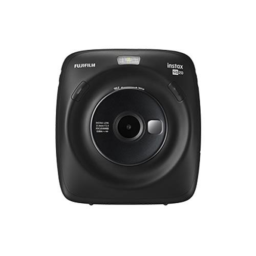 フジフイルム ハイブリッドインスタントカメラ チェキスクエア instax SQUARE SQ20 マットブラック (FUJIFILM)(SQ-20/ましかくチェキ/真四角チェキ) (快適家電デジタルライフ)