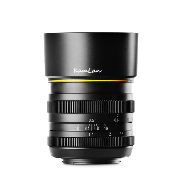 KAMLAN カムラン 単焦点レンズ FS 50mm F1.1 フジXマウント用 KAM0011 (ポートレートレンズ)(国内正規品)(快適家電デジタルライフ)
