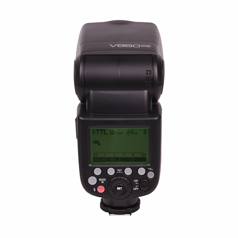 GODOX ゴドックス VING フラッシュキット V860 II N ニコン用 ワイヤレスフラッシュ 外付けフラッシュ(快適家電デジタルライフ)