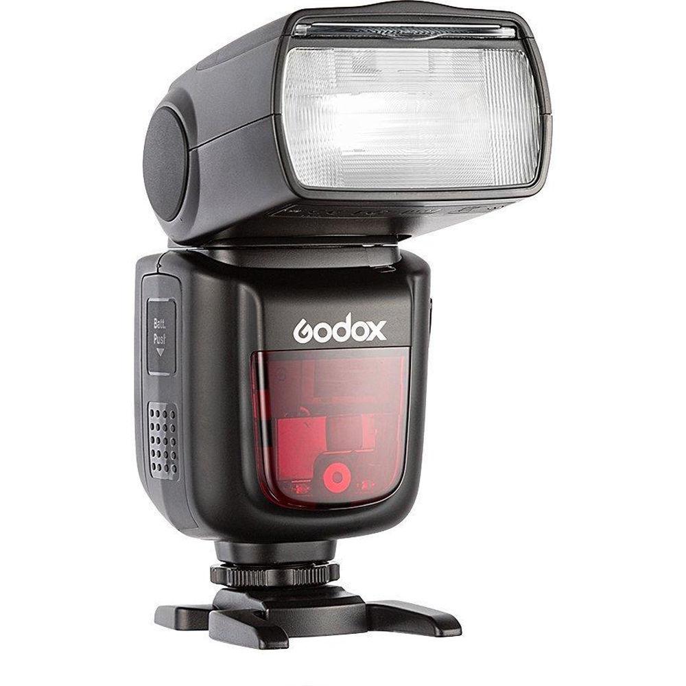 GODOX ゴドックス VING フラッシュキット V860 II F フジ用 ワイヤレスフラッシュ 外付けフラッシュ(快適家電デジタルライフ)