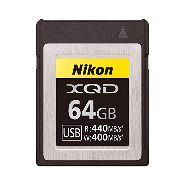 ニコン XQDメモリーカード64GB MC-XQ64G (MCXQ64G)(Nikon)(快適家電デジタルライフ)