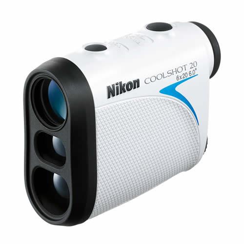 【送料無料】Nikon(ニコン) 携帯型レーザー距離計 COOLSHOT 20 <ケース・ストラップ付>【ゴルフ用レーザー距離測定器】【快適家電デジタルライフ】