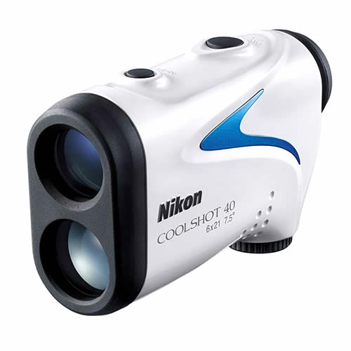 【送料無料】Nikon(ニコン) 携帯型レーザー距離計 COOLSHOT 40 <ケース・ストラップ付>【ゴルフ用レーザー距離測定器】【快適家電デジタルライフ】