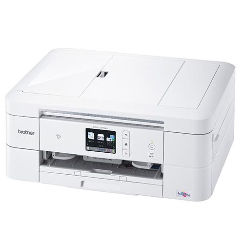 ブラザー インクジェット複合機 DCP-J978N-W ホワイト プリンター (DCPJ978NW)(brother) (ラッピング不可)(快適家電デジタルライフ)
