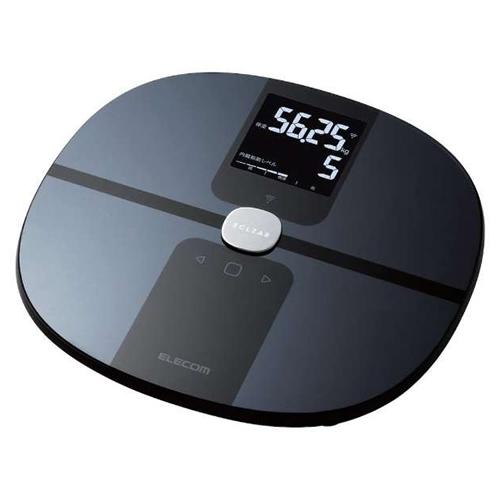 エレコム Wi-Fi通信機能搭載 ブラック HCS-WFS01BK エクリア 体組成計 HCS-WFS01BK エクリア ブラック (HCSWFS01BK)(ELECOM)(快適家電デジタルライフ), 生地と雑貨のお店 PERURU:b7f8e11e --- jpworks.be