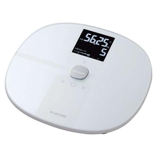 エレコム Wi-Fi通信機能搭載 エクリア 体組成計 HCS-WFS01WH ホワイト (HCSWFS01WH)(ELECOM)(快適家電デジタルライフ)