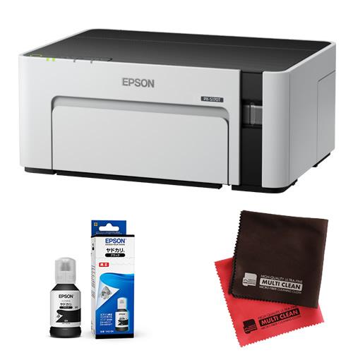 (インク・クロス付)エプソン ビジネスプリンター エコタンク搭載モデル PX-S170T 無線LAN対応 A4モノクロプリンター (EPSON) (快適家電デジタルライフ)