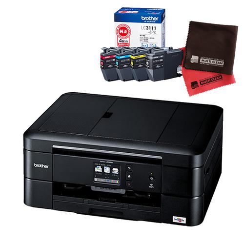 (インク・クロスセット)ブラザー インクジェット複合機 MFC-J898N ファクス機能付プリンター (MFCJ898N)(brother) (ラッピング不可)(快適家電デジタルライフ)
