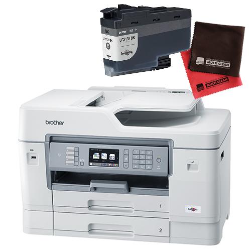 (インク・クロスセット)ブラザー ビジネスインクジェット複合機 MFC-J6997CDW A3対応 ファクス機能付プリンター (MFCJ6997CDW)(brother) (ラッピング不可)(快適家電デジタルライフ)