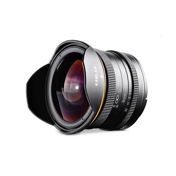 カムラン レンズ KAMLAN 超広角単焦点レンズ 8mm F3.0 フジフイルムXマウント 品番:KAM0003 (交換レンズ)(快適家電デジタルライフ)