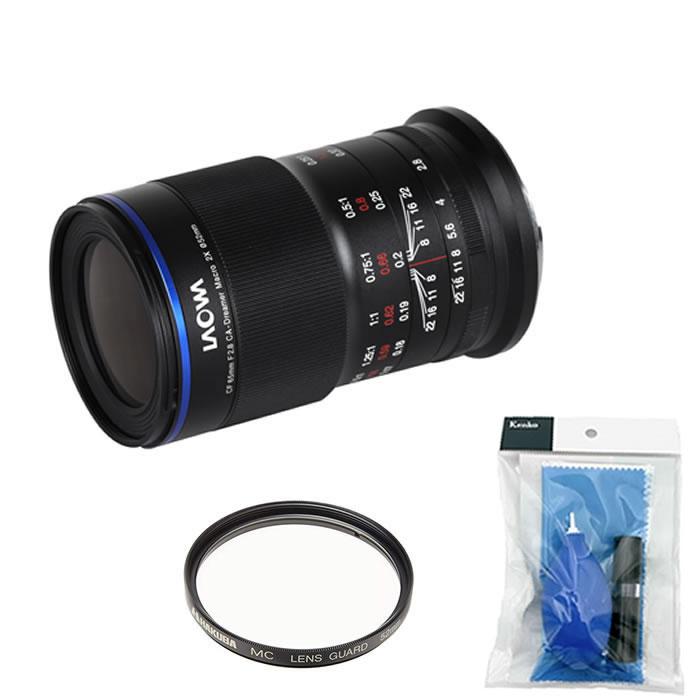 (保護フィルター&レンズクリーナー付)交換レンズ 2倍マクロレンズ ラオワ LAOWA 65mm F2.8 2× Ultra Macro EOS-M LAO0055 キャノン(快適家電デジタルライフ)