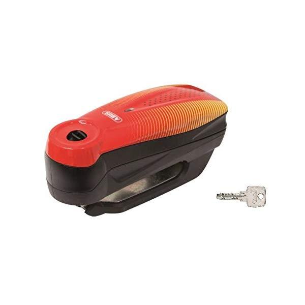 【送料無料】ABUS【バイク用品】アブス Detecto 7000 RS1 Sonic Red【快適家電デジタルライフ】