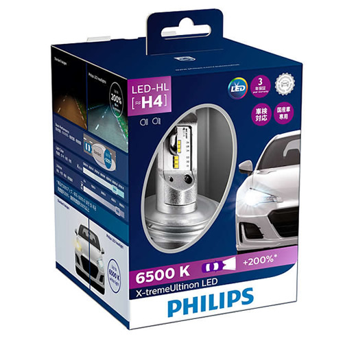PHILIPS フィリップス 自動車用ヘッドランプ X-tremeUltinon LED 12901HPX2JP エクストリームアルティノンLED(快適家電デジタルライフ)