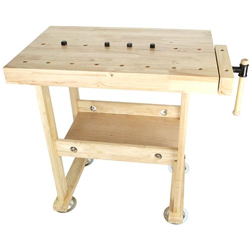 (メーカー直送/代引き不可)藤原産業 SK11 木製作業台 WKB-800 木工バイス付(快適家電デジタルライフ)
