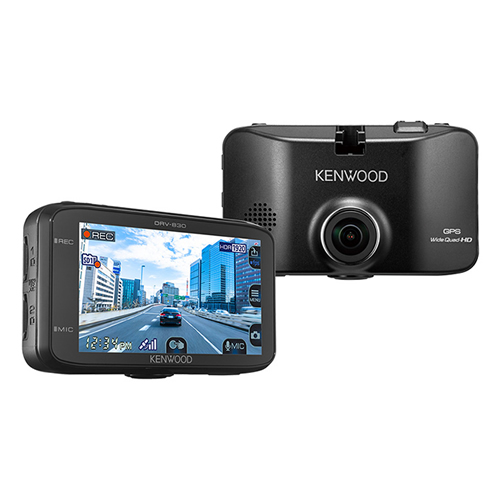 ケンウッド DRV-830 ドライブレコーダー 3.0型液晶モニター搭載 (KENWOOD)(快適家電デジタルライフ)