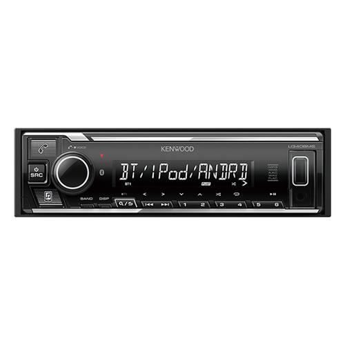 ケンウッド 1DIN カーオーディオ USB/iPod/Bluetoothレシーバー U340BMS (KENWOOD)(快適家電デジタルライフ)