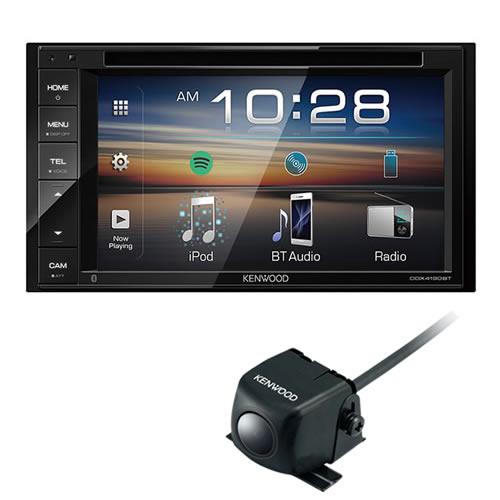 (純正バックカメラ付き)ケンウッド 2DIN DVD対応モニターレシーバー DVD/CD/USB/iPod /Bluetoothレシーバー DDX4190BT カーオーディオ (KENWOOD)(快適家電デジタルライフ)