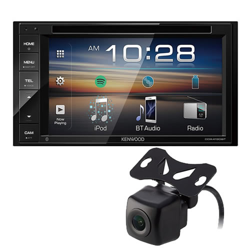 (バックカメラ付き)ケンウッド 2DIN DVD対応モニターレシーバー DVD/CD/USB/iPod /Bluetoothレシーバー DDX4190BT カーオーディオ (KENWOOD)(快適家電デジタルライフ)