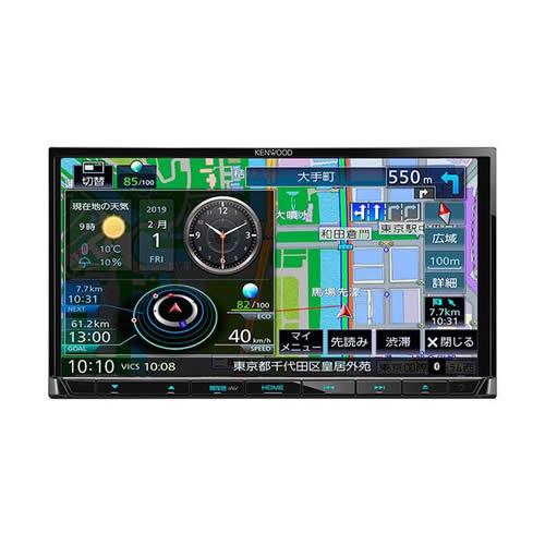 ケンウッド 彩速ナビゲーション MDV-S706 地上デジタルTVチューナー/ Bluetooth内蔵 DVD/USB/SD AVナビゲーションシステム(カーナビ)(KENWOOD)(快適家電デジタルライフ)