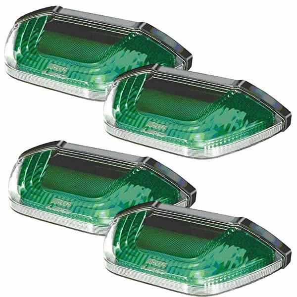 (4個セット)小糸製作所 LEDマーカー&アンダーライト SMLUL-24G グリーン 24V車専用 (KOITO)(カー用品)(ラッピング不可)(快適家電デジタルライフ)