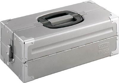 【代引不可】【メーカー直送】 TONE【工具箱・ツールバッグ】ツールケース(メタル) V形2段式 シルバー BX322SSV (3904377)【ラッピング不可】