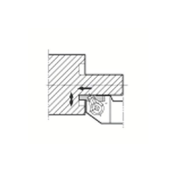 【代引不可】【メーカー直送】 京セラ【旋削・フライス加工工具】 溝入レ用ホルダ GFVSR2525M501B (6434312)【ラッピング不可】