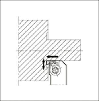 【代引不可】【メーカー直送】 京セラ【旋削・フライス加工工具】 溝入レ用ホルダ GFVTR2525M08AA (1751816)【ラッピング不可】
