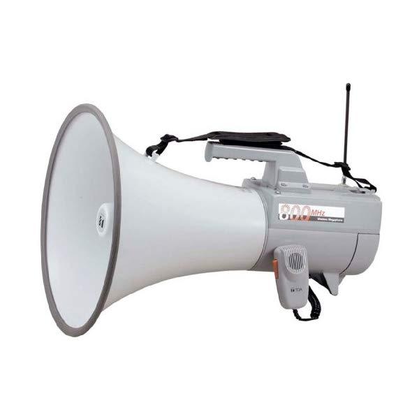 【TOA/拡声器】 ワイヤレスメガホン ホイッスル音付き ER-2830W【ラッピング不可】【快適家電デジタルライフ】