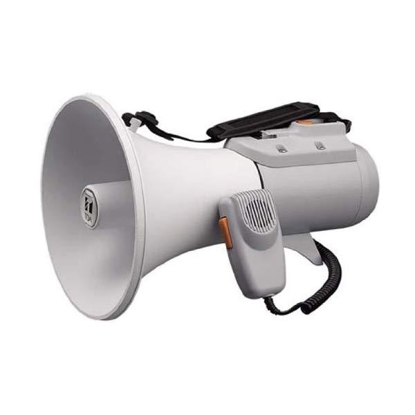 【TOA/拡声器】 中型ショルダー型メガホン ホイッスル音付き ER-2115W【ラッピング不可】【快適家電デジタルライフ】