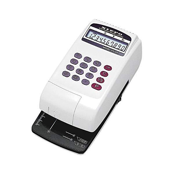 【ニッポー】 電子チェックライター FX-455040 (7599366)【ラッピング不可】【快適家電デジタルライフ】