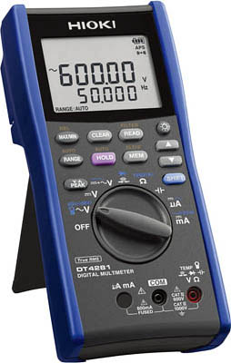 【代引不可】【メーカー直送】 日置電機【計測機器】 デジタルマルチメータ(A端子ナシ) DT4281 (4485475)【ラッピング不可】【快適家電デジタルライフ】