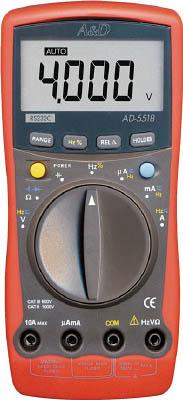 【代引不可】【メーカー直送】 エー・アンド・デイ【計測機器】 デジタルマルチメーター AD5518BP (3761045)【ラッピング不可】【快適家電デジタルライフ】