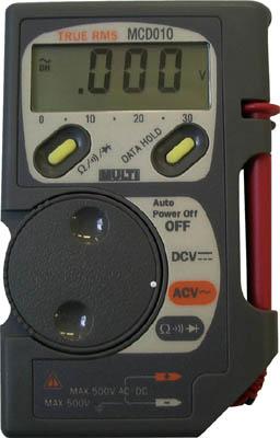 【代引不可】【メーカー直送】 マルチ計測器【計測機器】 コード収納機能付ポケット MCD010 (3317391)【ラッピング不可】