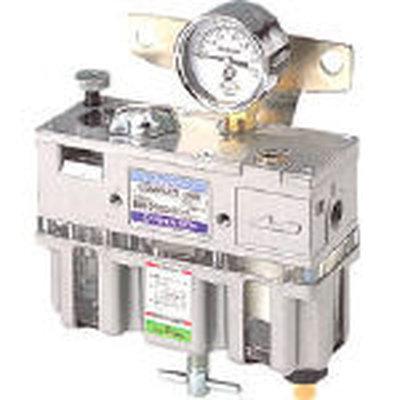 【代引不可】【メーカー直送】 日本精器【空圧・油圧機器】FRLユニット8A一体型 BN25108 (1036114)【ラッピング不可】