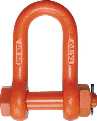 【代引不可】【メーカー直送】 大洋製器工業【吊りクランプ・スリング・荷締機】軽量シャックル ストレート・ボルトナット 20t RS20T (3319482)【ラッピング不可】