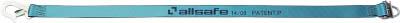 【代引不可】【メーカー直送】 オールセーフ【吊りクランプ・スリング・荷締機】 カゴ台車落下防止ベルト2本 AA2001 (7634471)【ラッピング不可】【快適家電デジタルライフ】