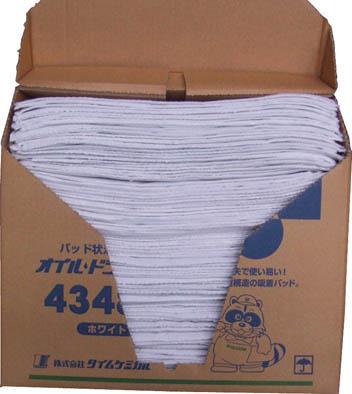 【代引不可】【メーカー直送】 TC 【清掃用品】 オイルドライパッド(43cm×48cm×100枚) ホワイト 4348N (4078535)【ラッピング不可】【快適家電デジタルライフ】