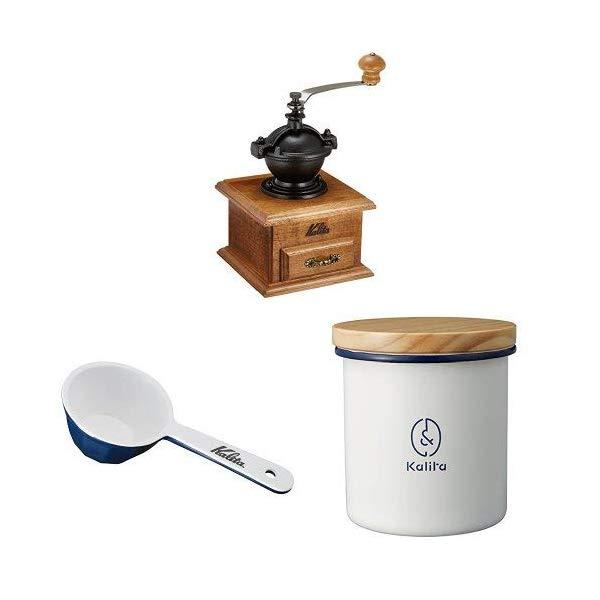【10個セット】Kalita(カリタ) 手挽きコーヒーミル クラシックミル [豆挽き][硬質鋳鉄製臼歯使用]【快適家電デジタルライフ】