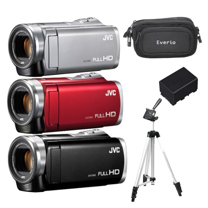 【得々セット】【送料無料】JVC(ビクター) ハイビジョンメモリームービー GZ-E880 [Everio/エブリオ][ムービーカメラ][ビデオカメラ][JVCケンウッド](快適家電デジタルライフ)