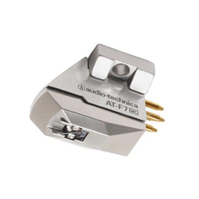 オーディオテクニカ MC型(デュアルムービングコイル)ステレオカートリッジ AT-F7 [アナログアクセサリー][audio-technica]【快適家電デジタルライフ AT-F7】, シルバーレザーのアジアンアーツ:53b2ff7f --- sunward.msk.ru