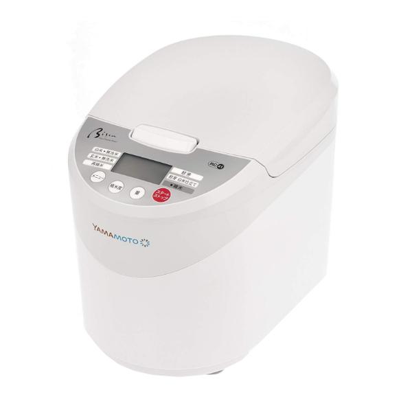 山本電気(YAMAMOTO) 家庭用精米機 Bisen YE-RC41W ホワイト [ライスクリーナー][キッチン家電]【快適家電デジタルライフ】