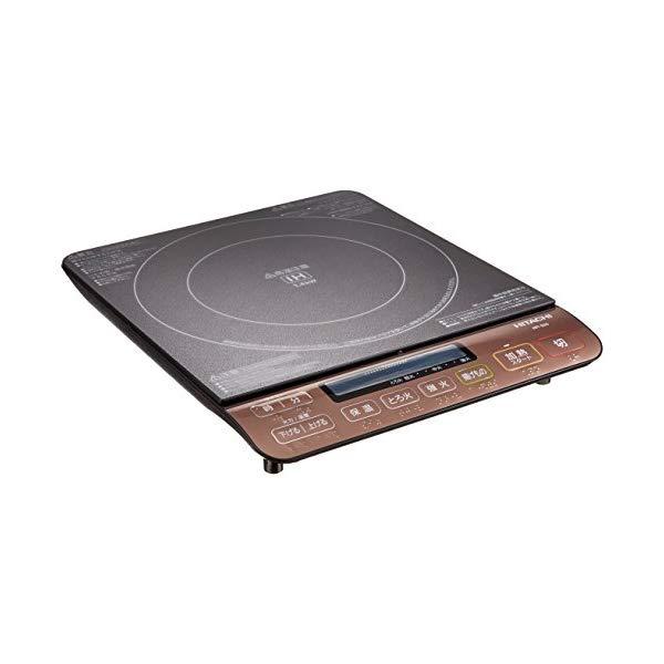 日立(HITACHI) IH調理器 HIT-S55(B) ブラック [HIT-S55-B]【快適家電デジタルライフ】